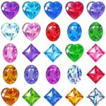 Birthstone gems for birthday gifts and engagement rings