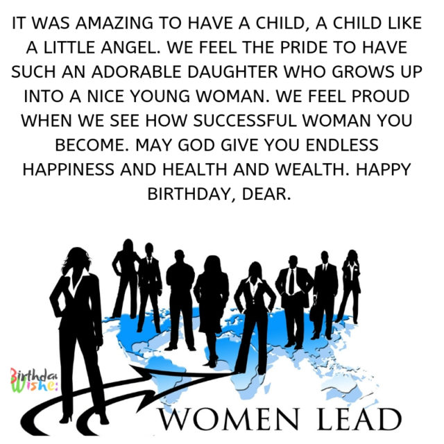 women lead How successful woman you become